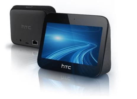 Vorder- und Rückansicht des 5G Hubs von HTC
