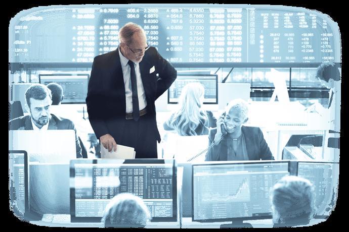 Einsatz von eCall Business Messaging in der Branche Banken und Versicherungen